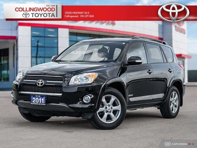 2011 Toyota RAV4 LIMITED AWD 4 CYL YES THE VERY LOW KM ARE REAL! in