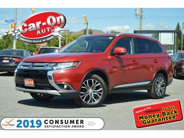 2016 MITSUBISHI OUTLANDER GT AWD 7 SEAT LEATHER SUNROOF REAR CAM LOADED in Ottawa, Ontario