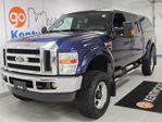 2010 Ford F-350  LARIAT FX4 with power heated seats, sunroof, back up cam, and NAV in Edmonton, Alberta