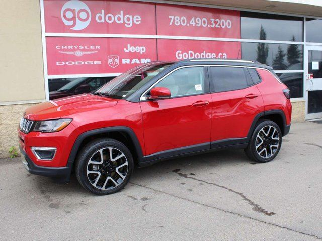 2018 JEEP COMPASS Limited / Full Sunroof / Back Up Camera in Edmonton, Alberta