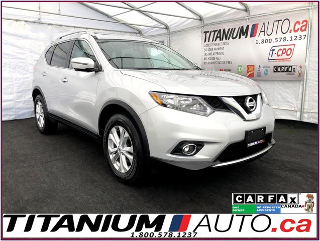 2016 NISSAN ROGUE SV-Tech+AWD+GPS+360 Camera+Pano Roof+Blind Spot+XM in London, Ontario