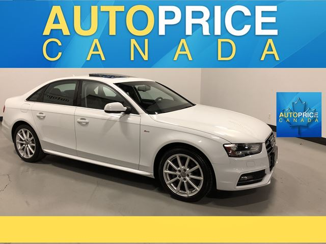 2015 AUDI A4 2.0T Progressiv plus S-LINE|MOONROOF|NAVIGATION in Mississauga, Ontario