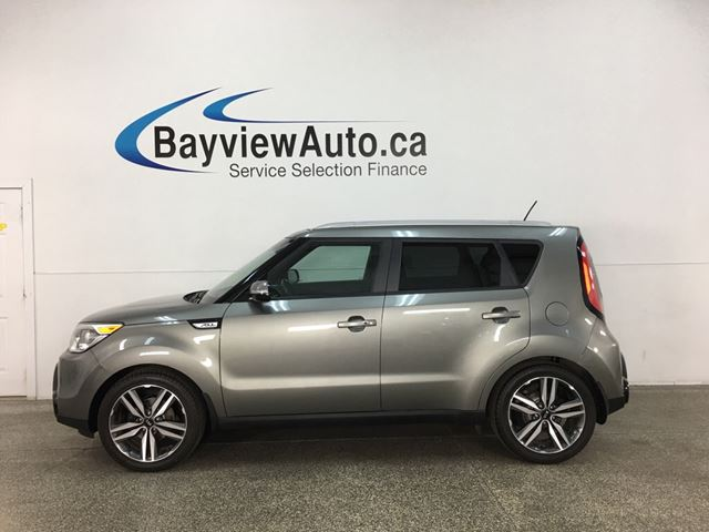 2015 KIA SOUL SX - PANOROOF! LEATHER! NAV! + MORE! in Belleville, Ontario