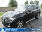 2018 BMW X1 xDrive28i-AWD, Navigation, Panoramic Sunroof, Leather, Power Seat, Heated Seats, Bluetooth and more! in Guelph, Ontario