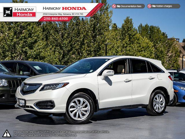 2017 Acura RDX Tech Pkg in Kelowna, British Columbia