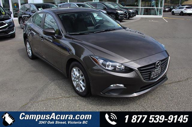 2016 MAZDA MAZDA3 4dr Sdn GS in Victoria, British Columbia