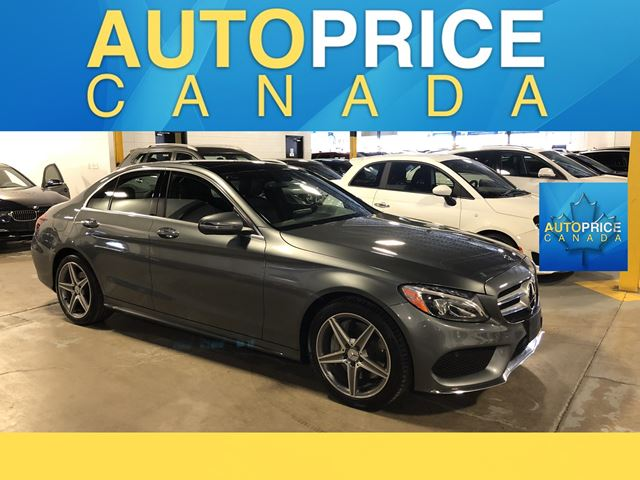 2018 MERCEDES-BENZ C-CLASS SPORT PKG|NAVIGATION|PANROOF in Mississauga, Ontario