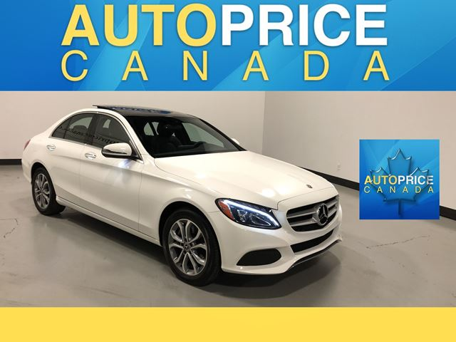 2018 MERCEDES-BENZ C-CLASS NAVIGATION|PANOROOF|LEATHER in Mississauga, Ontario