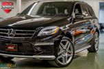 2015 Mercedes-Benz M-Class ML63 AMG PERFORMANCE PKG  ACCIDENT-FREE in Oakville, Ontario