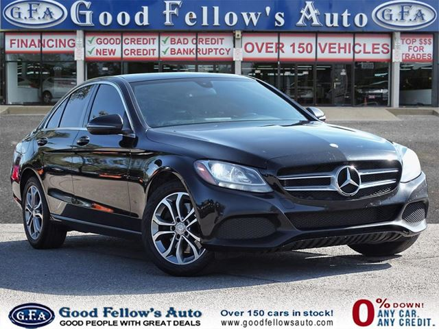 2016 MERCEDES-BENZ C-Class 4MATIC, PANORAMIC ROOF, NAVIGATION,REARVIEW CAMERA in North York, Ontario
