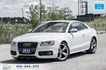 2012 Audi A5 S-LINE A-8 2.0 PREMIUM PLUS NAVI CERTIFIED FINANCE in Toronto, Ontario