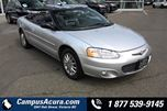 2003 Chrysler Sebring 2dr Convertible Limited in Victoria, British Columbia