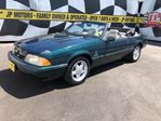 1990 Ford Mustang LX, Automatic, Leather, Convertible in Burlington, Ontario