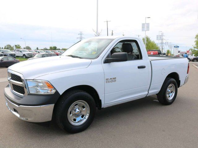 2013 DODGE RAM 1500 ST, 4.7L V8, 4X2, UCONNECT, AIR CONDITIONING, CRUISE, MANUAL ACCESSORIES, VINYL in Edmonton, Alberta
