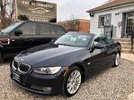 2008 BMW 3 Series Cabriolet 335i Convertible NAVI NO ACCIDENT in Mississauga, Ontario