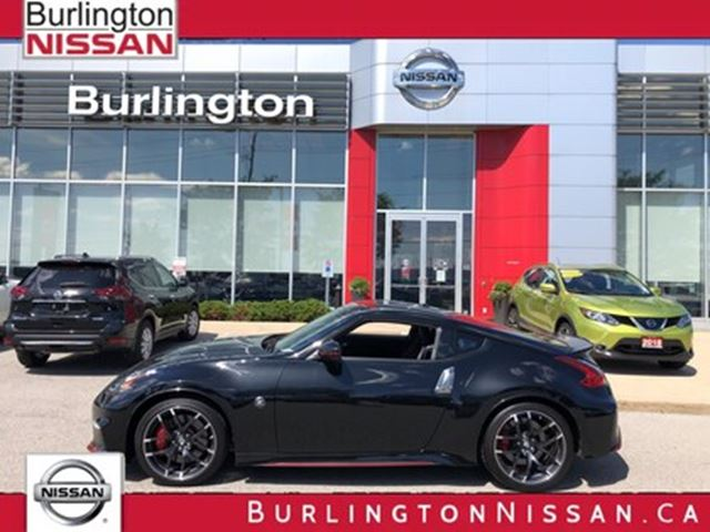 2018 Nissan 370Z NISMO, ACCIDENT FREE, 1 OWNER, LIKE NEW ! in Burlington, Ontario