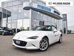 2017 Mazda MX-5 Miata  GX ONE OWNER NO ACCIDENTS 1.99% FINANCE AVAILABLE in Mississauga, Ontario