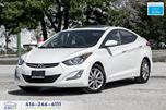 2014 Hyundai Elantra GLS Alloys Sunroof Certified Serviced We Finance in Toronto, Ontario