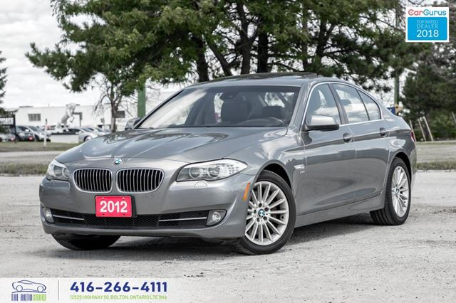 2012 BMW 5 Series 535 AWD xDriv 360Cam*Navi*Driver*Assist We Finance in Toronto, Ontario