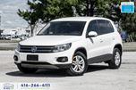 2014 Volkswagen Tiguan AWD CleanCarfax Certified DVD AutoStart We Finance in Toronto, Ontario