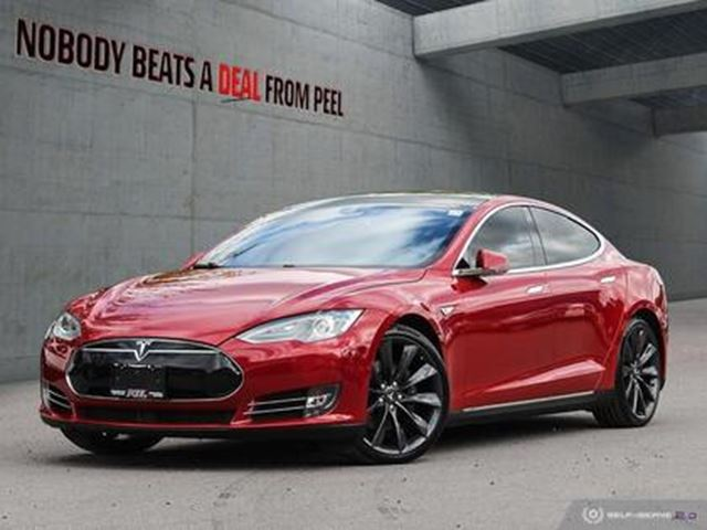 2015 TESLA MODEL S 85D,Autopilot,7 SEATS,21Whls,SMART Susp,Roof,EV in Mississauga, Ontario