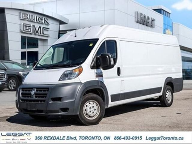 2018 RAM PROMASTER 3500 High Roof Ext 159 WB in Rexdale, Ontario