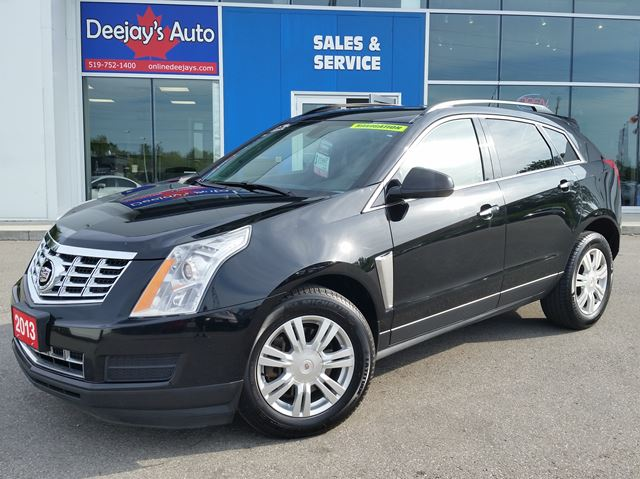 2013 CADILLAC SRX Base FWD equipped w/AM Lane Detection System in Brantford, Ontario