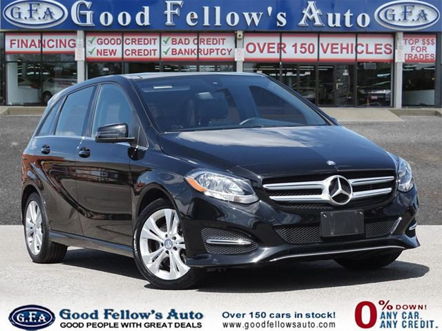 2015 MERCEDES-BENZ B-Class 4MATIC, PANORAMIC ROOF, LEATHER SEATS, NAVIGATION in North York, Ontario