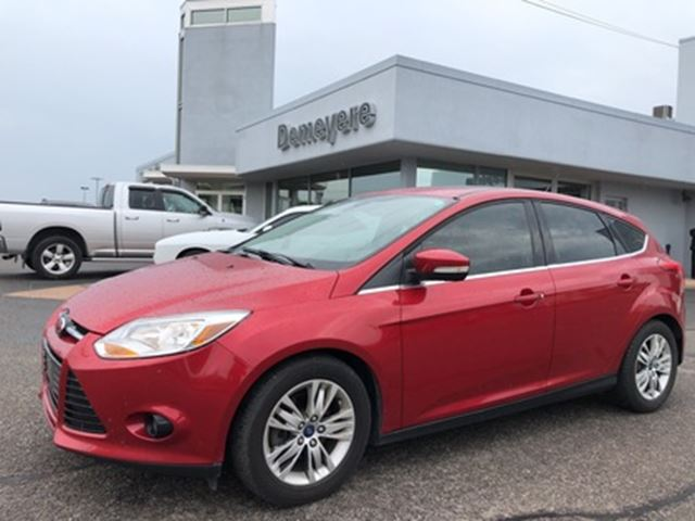2012 Ford Focus SEL LEATHER INTERIOR.... in