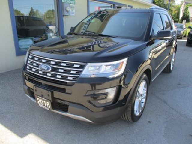 2016 FORD Explorer FOUR-WHEEL DRIVE LIMITED EDITION 7 PASSENGER 3. in Bradford, Ontario