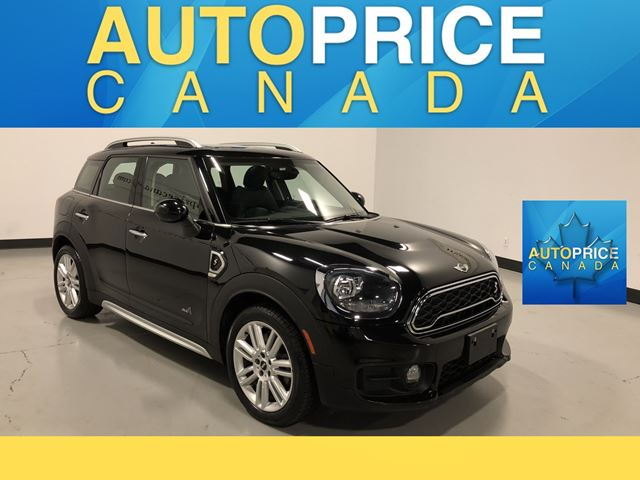 2018 MINI COOPER Countryman Cooper S 'S'|AWD|PANOROOF|LEATHER in Mississauga, Ontario