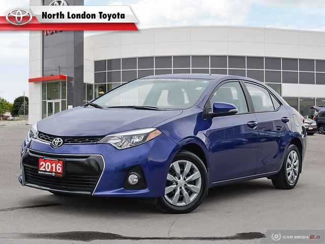 2016 TOYOTA Corolla S One Owner, No Accidents in London, Ontario