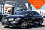 2017 Mercedes-Benz E-Class E 300 Smartphone.Integ,AMG.Styling,Light,Sun.Protection.Pkgs  in Thornhill, Ontario