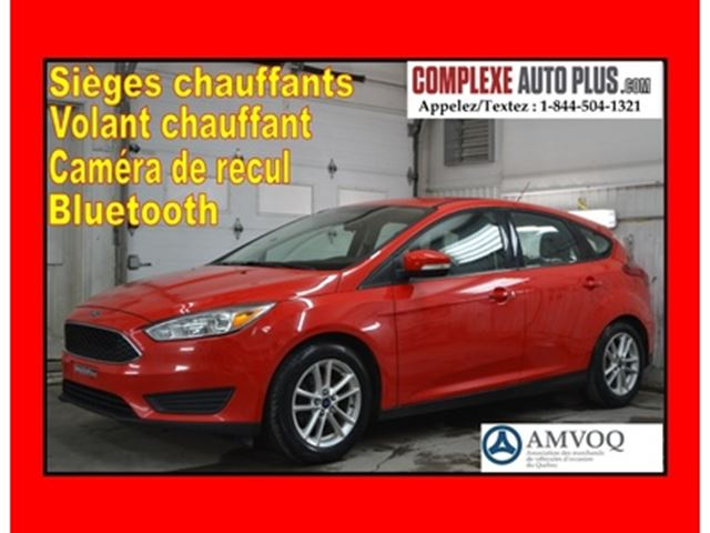 2015 FORD FOCUS SE Hayon *Mags, Caméra, Banc chauffant in Saint-Jerome, Quebec