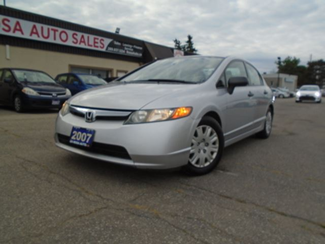 2007 Honda Civic 1OWNER SERVICE RECORDS LOW KM NO ACCIDENT