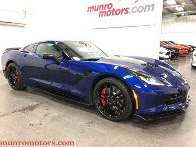 2017 Chevrolet Corvette Z51 Coupe w-2LT Navigation PDR Carbon Fiber in