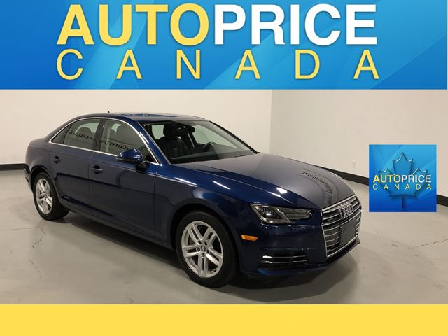 2017 AUDI A4 2.0T Komfort MOONROOF|ALLOYS|LEATHER in Mississauga, Ontario