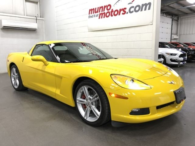 2009 Chevrolet Corvette 1LT Automatic Velocity Yellow Low Kms in