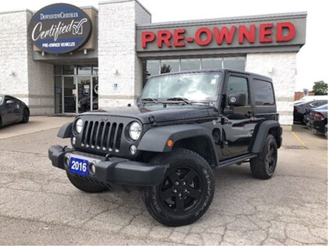 2016 JEEP Wrangler Sport..$97 weekly+hst..$0 down..84m..5.9% in Toronto, Ontario