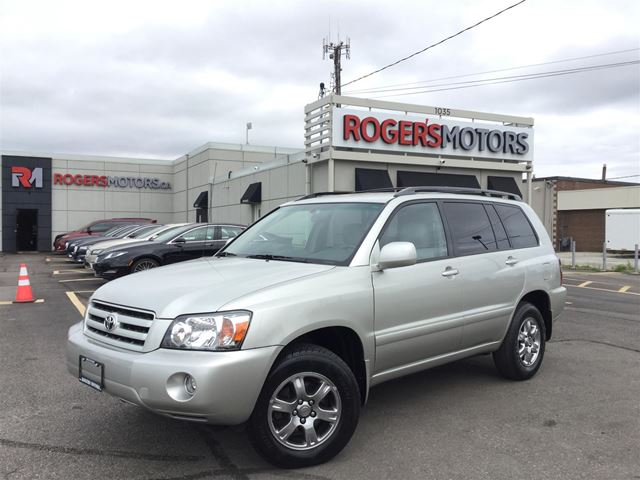2006 TOYOTA Highlander V6 4WD - POWER PKG  in Oakville, Ontario