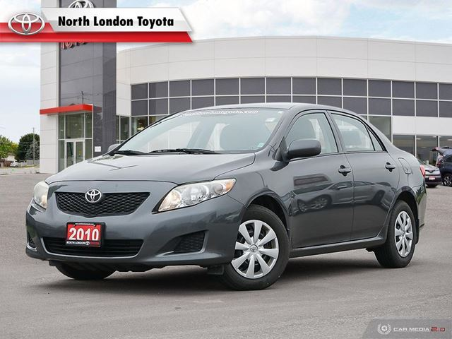 2010 TOYOTA Corolla CE AS-IS, No Accidents, Toyota Serviced in London, Ontario