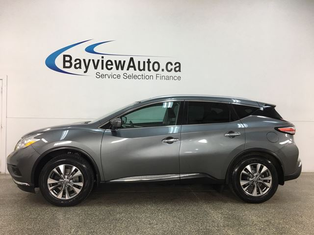 2016 NISSAN Murano SL - AWD! HTD LEATHER! NAV! PANOROOF! in Belleville, Ontario
