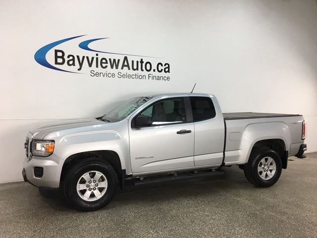 2018 GMC Canyon - 4X4! V6! 8SPD AUTO! PWR GROUP! in Belleville, Ontario