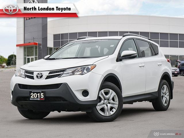 2015 TOYOTA RAV4 LE One Owner, Toyota Serviced in London, Ontario