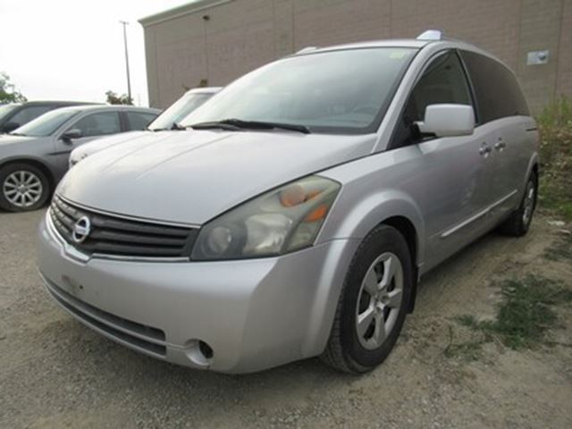 2007 NISSAN Quest 3.5 S   LOW KMS   A/C BLOWS COLD in Brampton, Ontario
