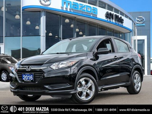 2016 HONDA HR-V LX AWD ONE OWNER FINANCE AVAILABLE in Mississauga, Ontario