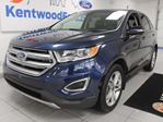 2017 Ford Edge Titanium AWD ecoboost with NAV, heated/cooled power leather seats, heated rear seats, heated steering wheel, push start/stop and back up cam in Edmonton, Alberta