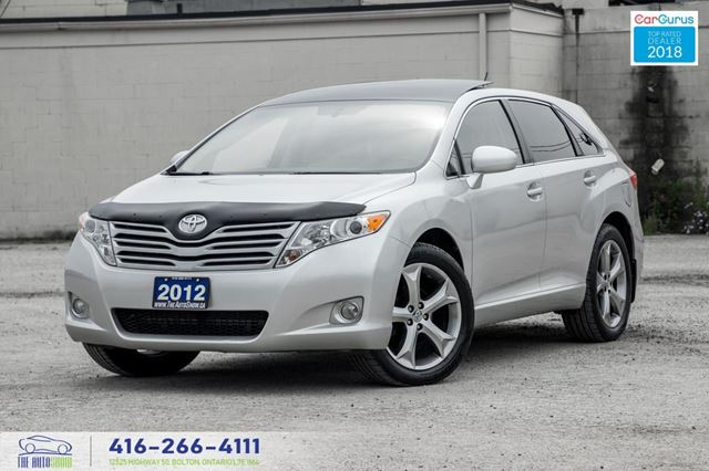 2012 Toyota Venza V6 AWD SUNROOF R*CAM SERVICED CERTIFIED WE FINANCE in Toronto, Ontario