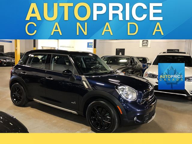 2015 MINI COOPER Countryman Cooper S PANOROOF|LEATHER in Mississauga, Ontario