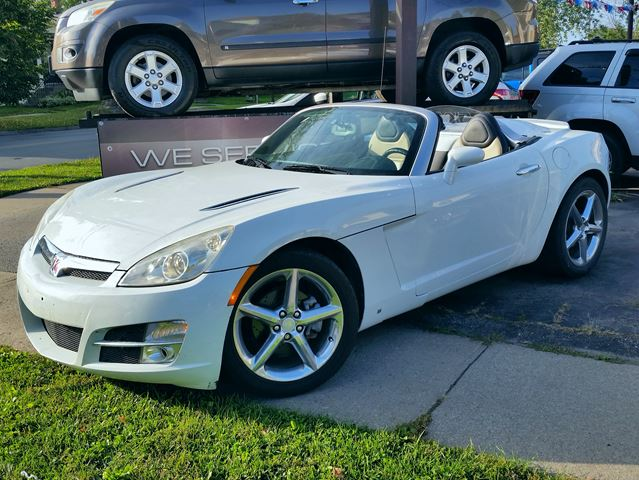 2007 SATURN Sky Roadster Soft Top Convertible